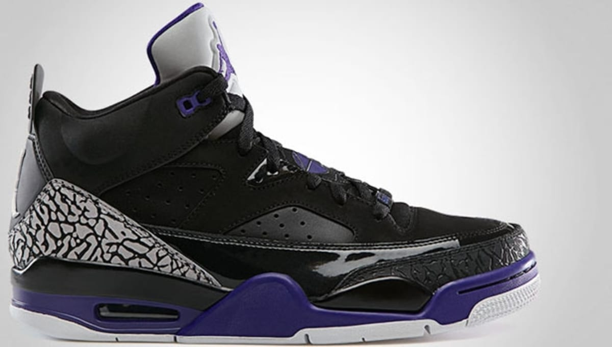 the latest daeb4 ddcc7 Jordan Son Of Mars Low Black Grape Ice-White   Jordan   Sole Collector