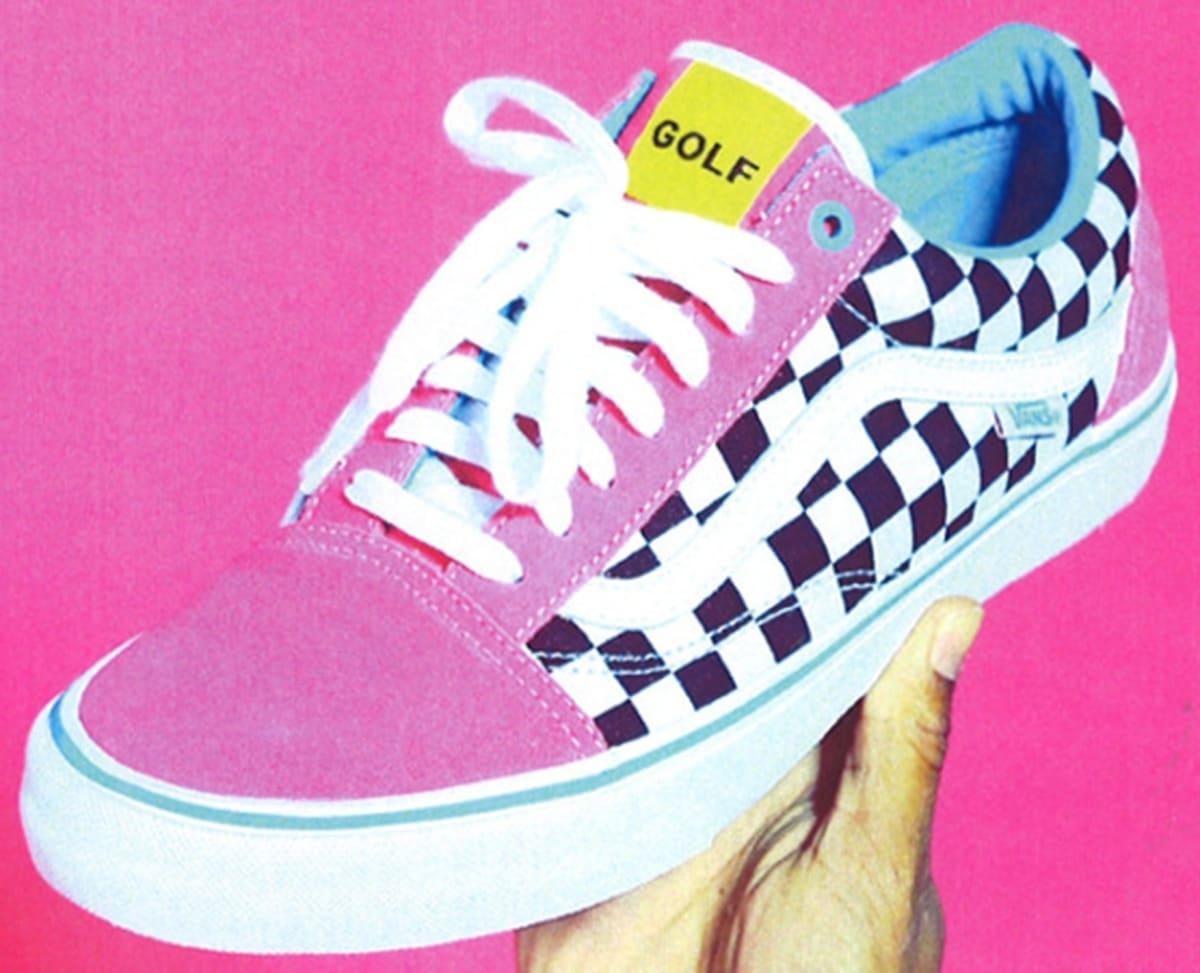 3889c9622c Vans Syndicate Old Skool Pink Black-White
