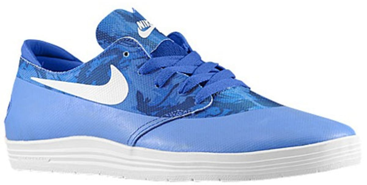 buy online 1ae0c 6cbce Nike Lunar One Shot SB Game Royal White   Nike   Sole Collector
