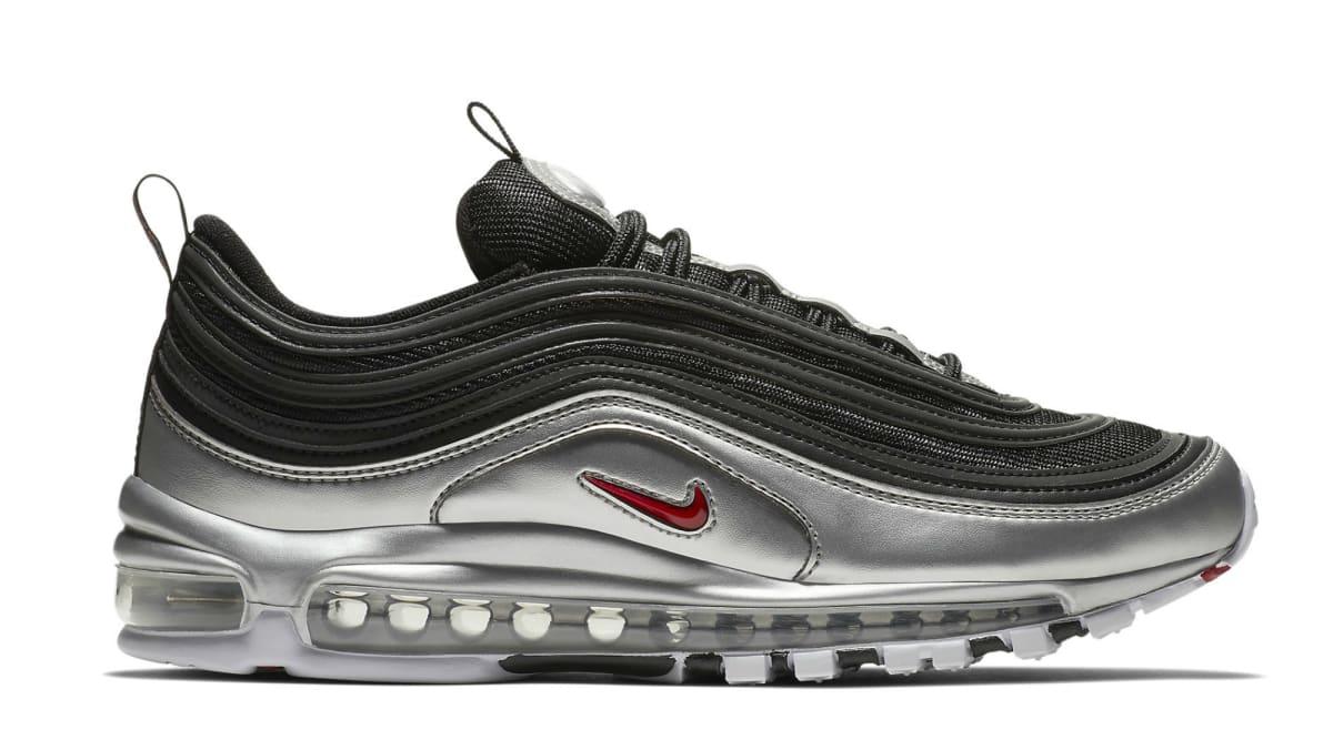 Nike Air Max 97 Silver Black - AT5458-001