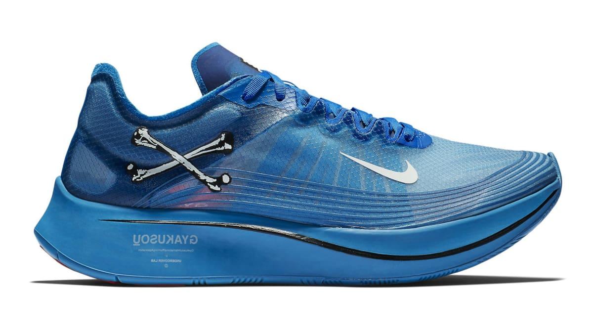 db71e11c4ec0 Undercover Gyakusou x Nike Zoom Fly SP Blue Nebula Sail-Black-University  Red
