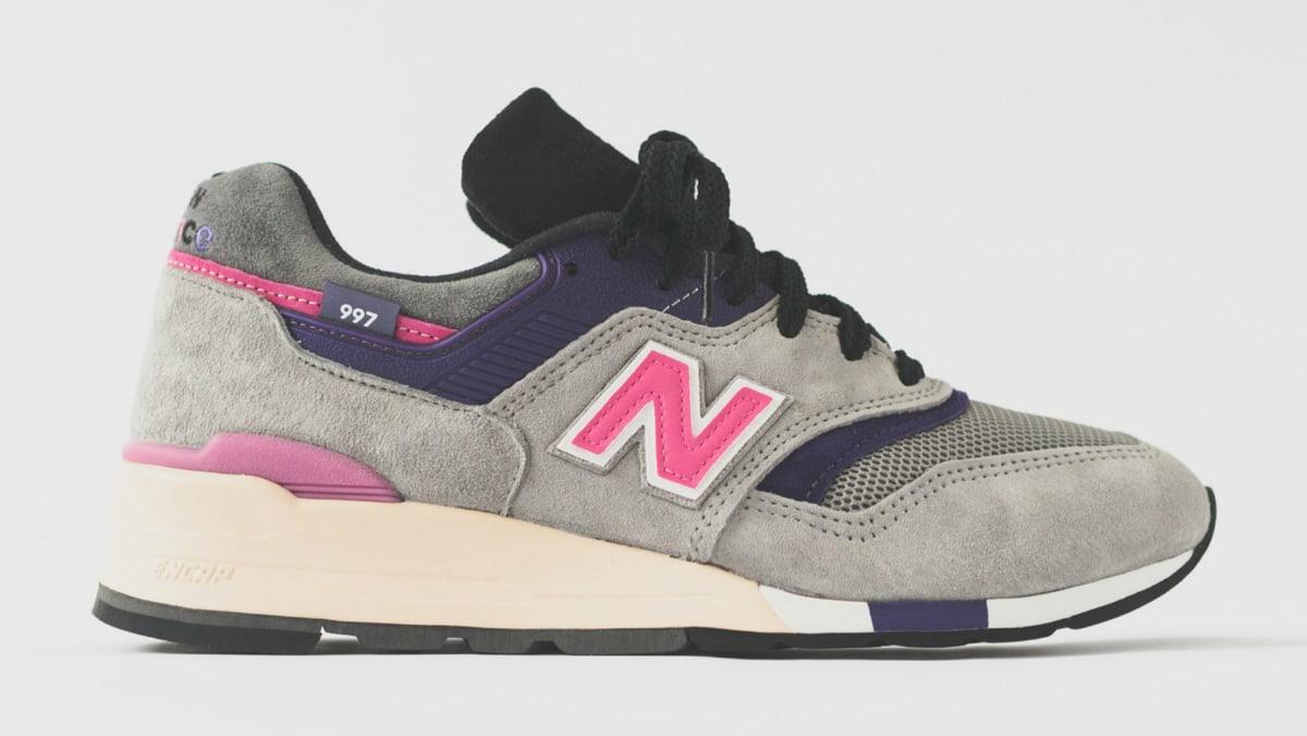 new balance 997 kith grey