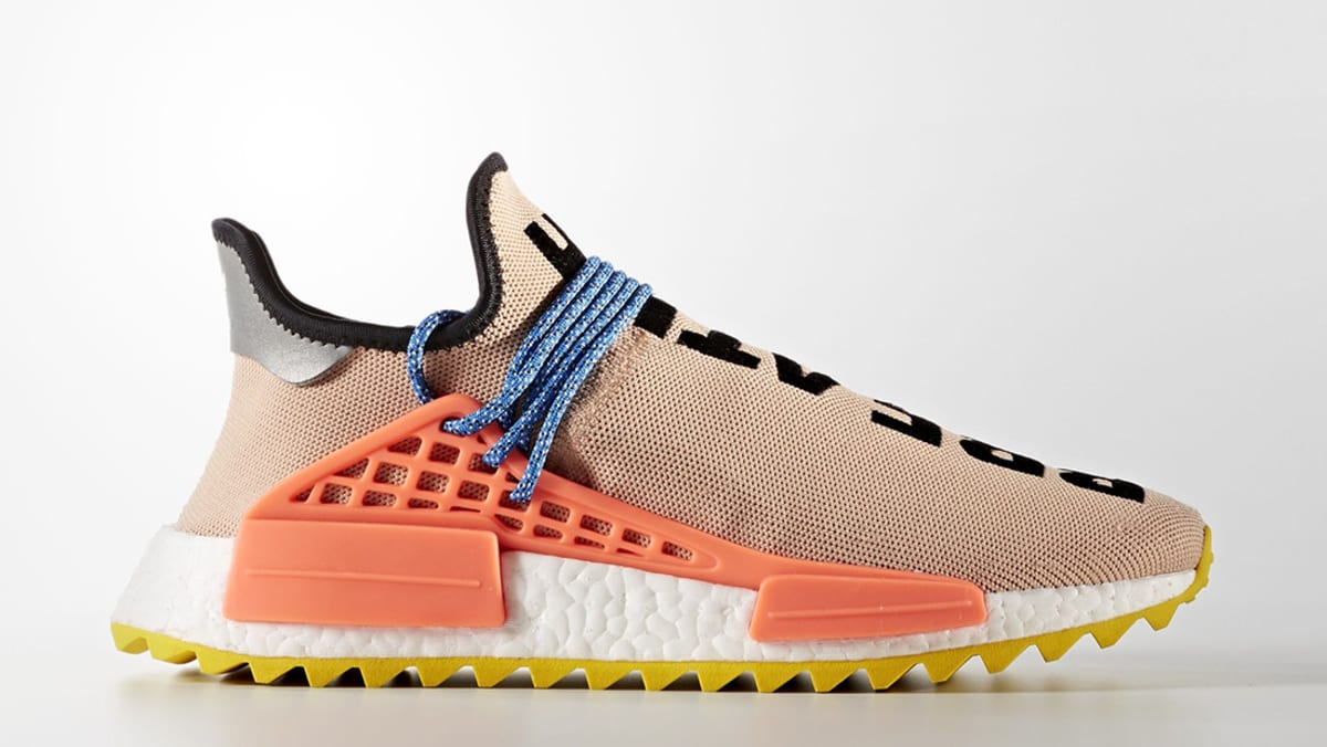 Adidas Pharrell x NMD Hu 'Tennis' Tan/Multi Color Urban Necessities