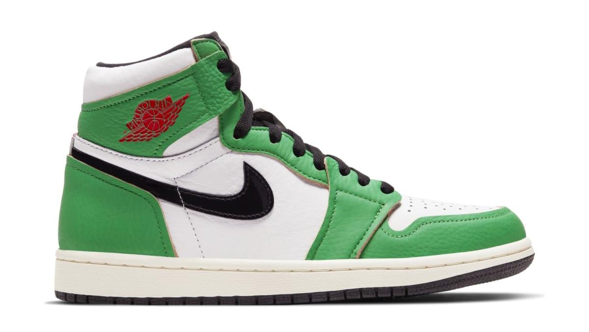 Womens shoes Air Jordan W 1 High OG Lucky Green/ Black