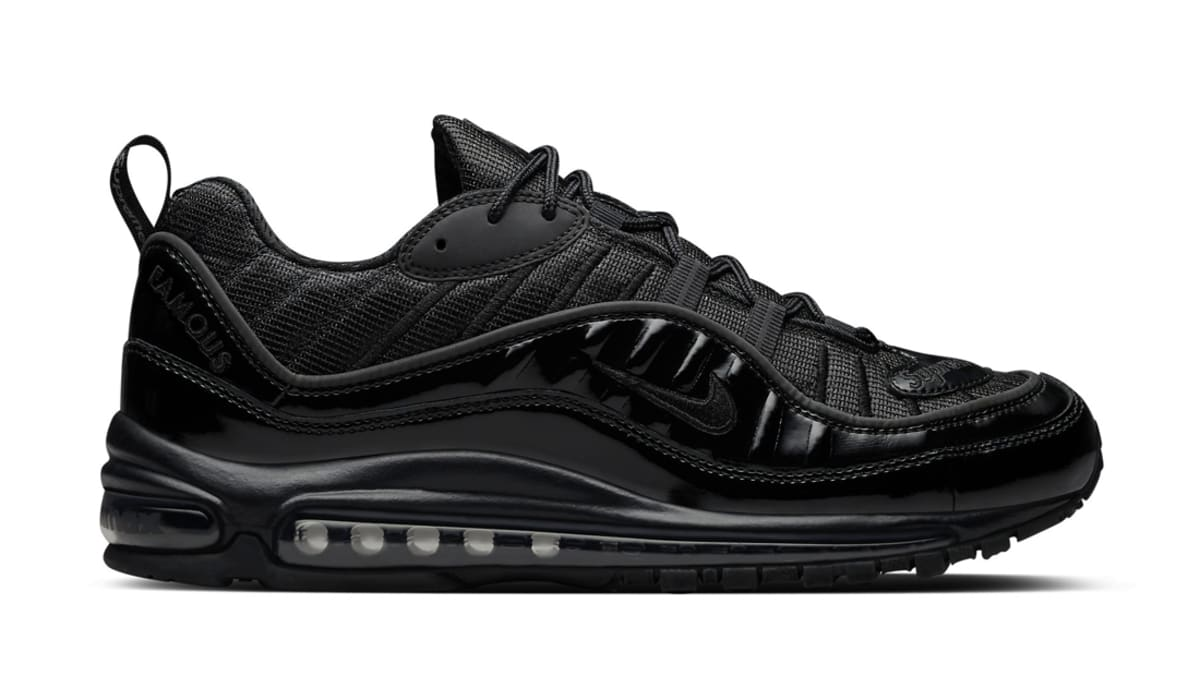 nike air max 98 x supreme black nike sole collector. Black Bedroom Furniture Sets. Home Design Ideas