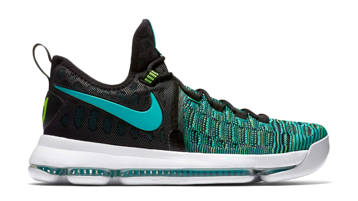 separation shoes 4d658 b39a4 shopping nike kd 9 turquoise blue online cheap sale 6f3e2 a8188  authentic nike  kd 9 birds of paradise nike sole collector aa238 bc35c