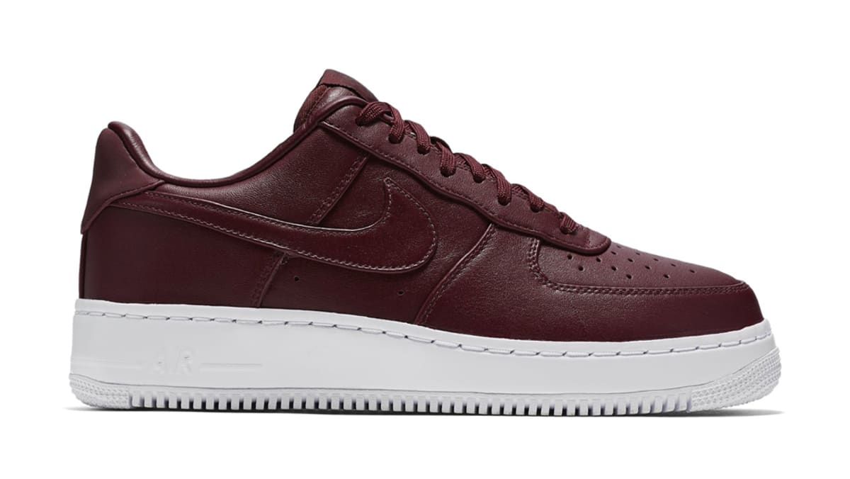 Nikelab Air Force 1 Low Night Maroon Nike Sole Collector