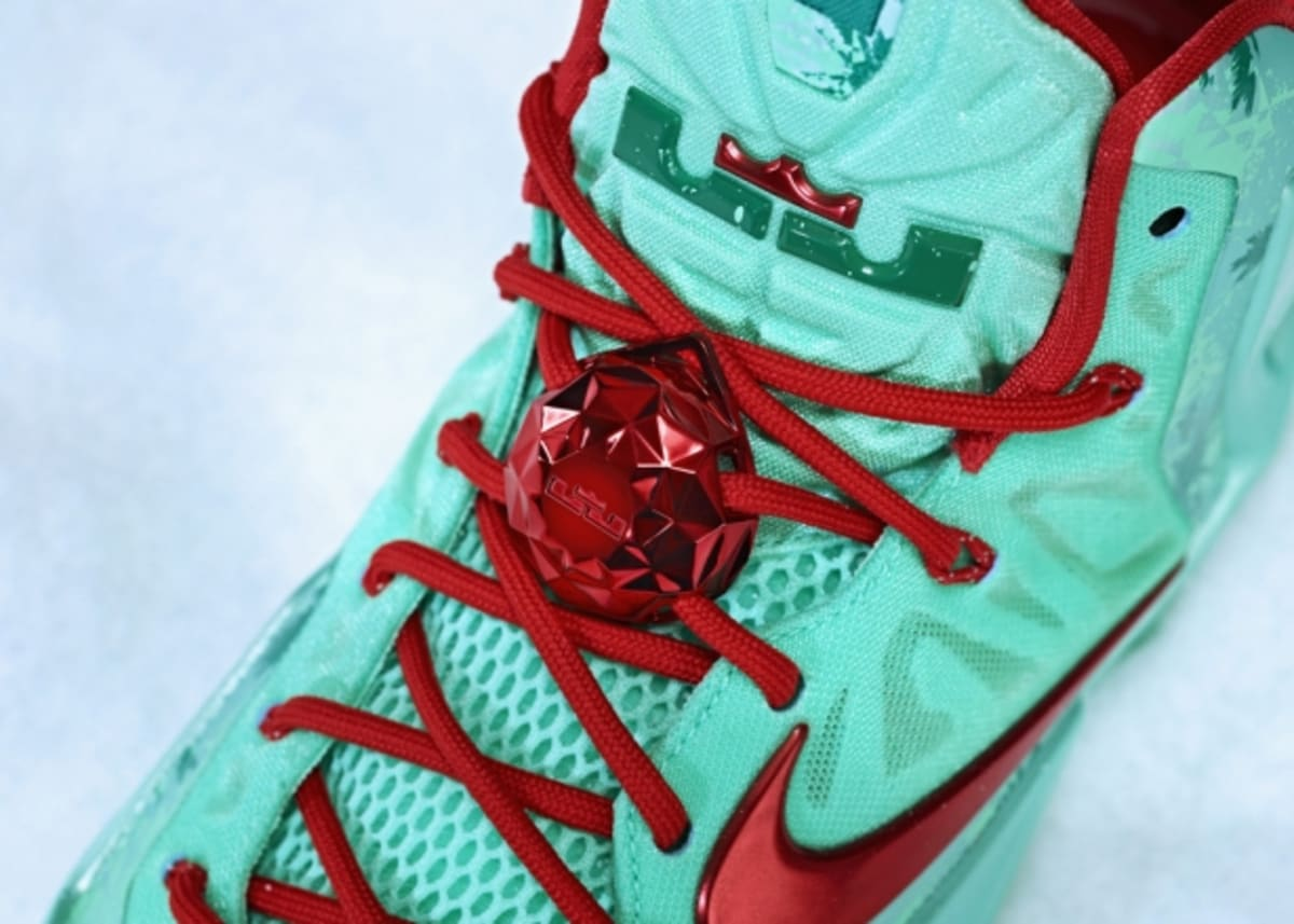 wholesale dealer 3ed1d 465f7 Nike LeBron 11 Green Glow Light Crimson-Arctic Green   Nike   Sole Collector