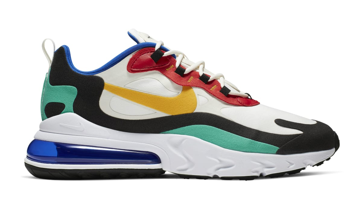 """Red White And Blue Auto Sales >> Nike Air Max 270 React """"Bauhaus"""" 