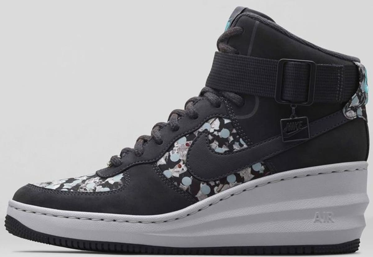 nike lunar force 1 sky hi liberty women 39 s dark ash dark. Black Bedroom Furniture Sets. Home Design Ideas