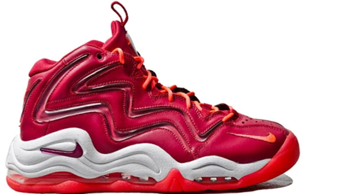 superior quality 17191 a1d09 ... Nike Air Pippen I Noble RedNoble Red-White-Atomic Red Nike Sole  Collector ...