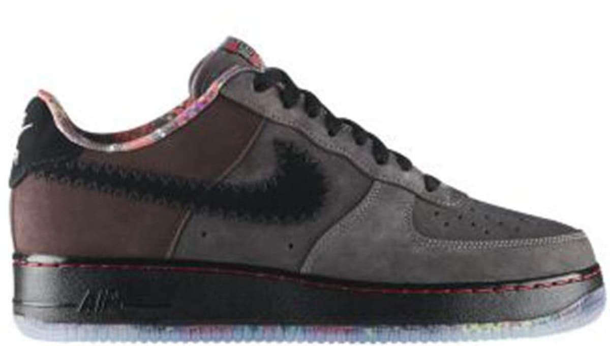 Nike Air Force 1 Low Premium Black History Month Midnight Fog Black 453419 090