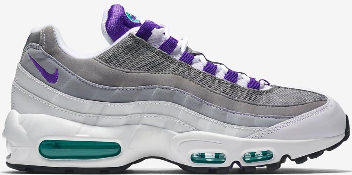 Nike Air Max '95 OG White/Court Purple