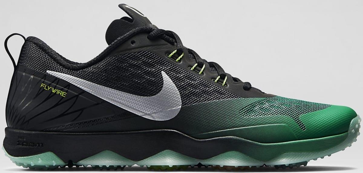 11cc041c17b0 Nike Zoom Hypercross TR Black Kelly Green-Metallic Silver-Volt