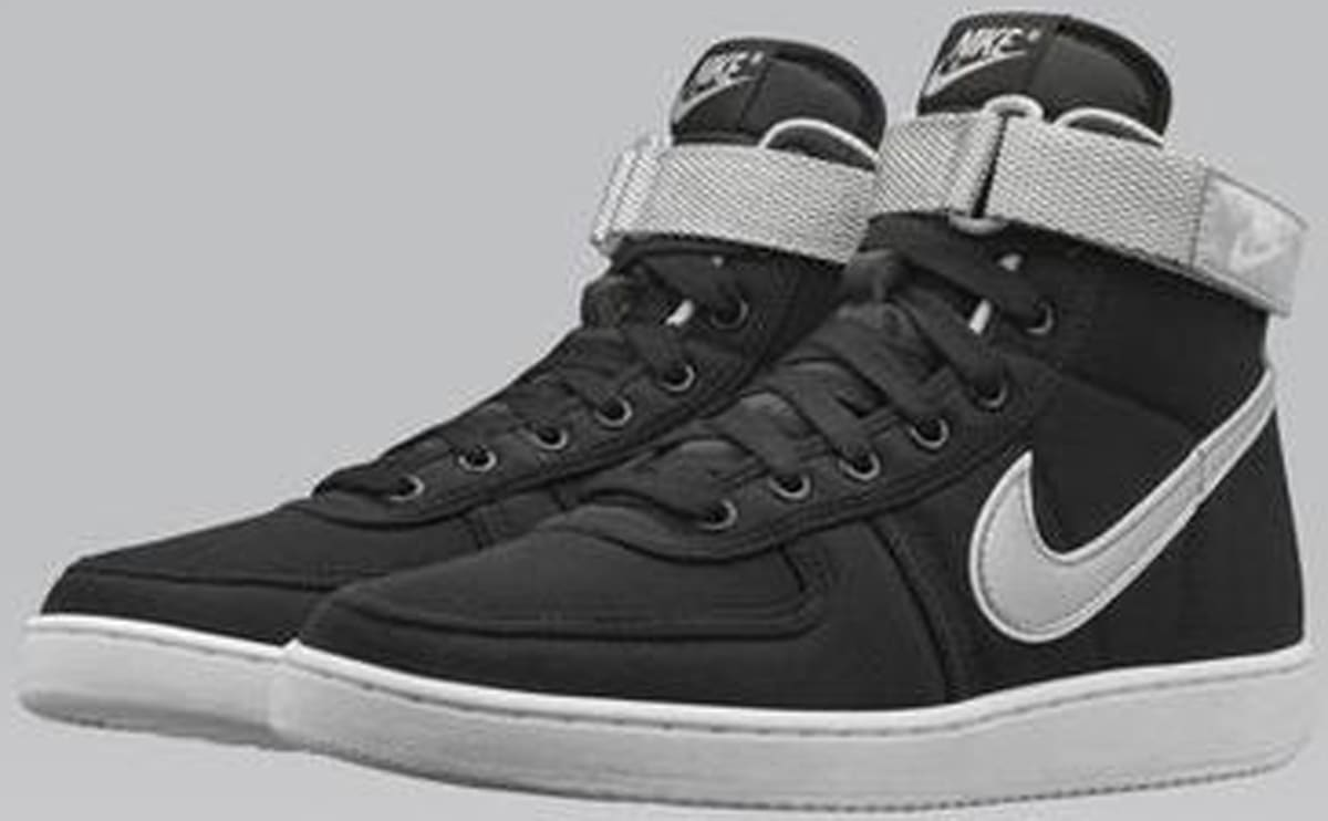 Price Black Label >> Nike Vandal High Black/Metallic Silver | Nike | Sole Collector