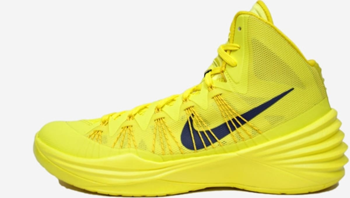 differently 9cb5d 2821d Nike Hyperdunk 2013 Sonic Yellow Dark Grey-Tour Yellow