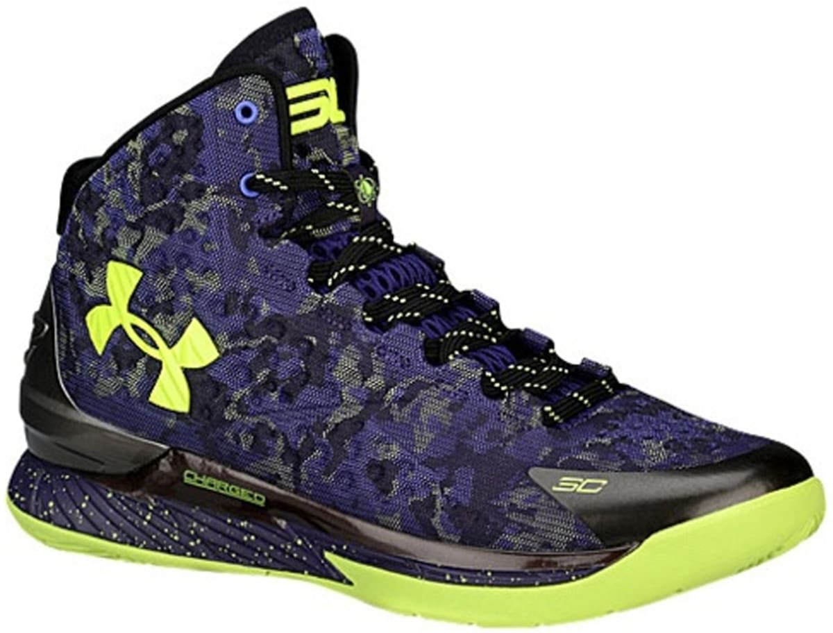 6780300def8f Under Armour Curry One Purple Black