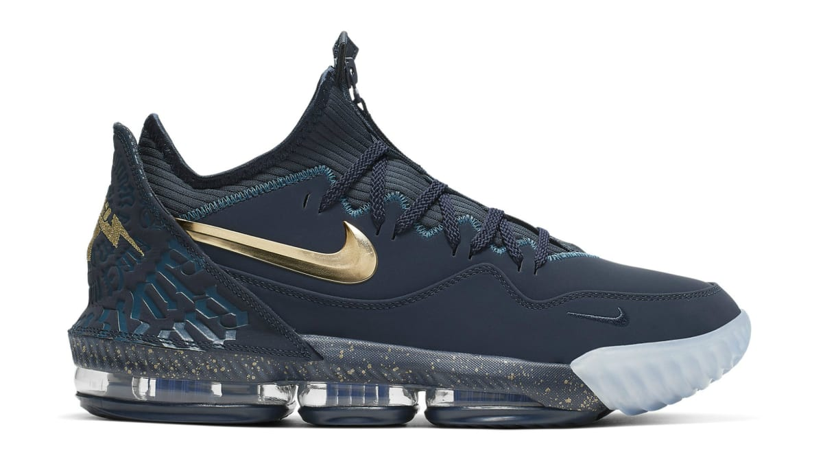Titan Nike LeBron 16 Low Agimat CJ9919 400 Release Date SBD