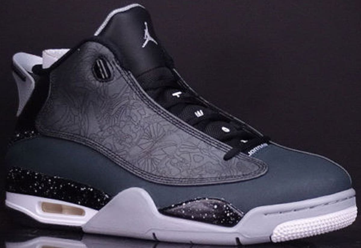 2b8ecee4f9e Jordan Dub Zero Black/Classic Charcoal-Wolf Grey-White