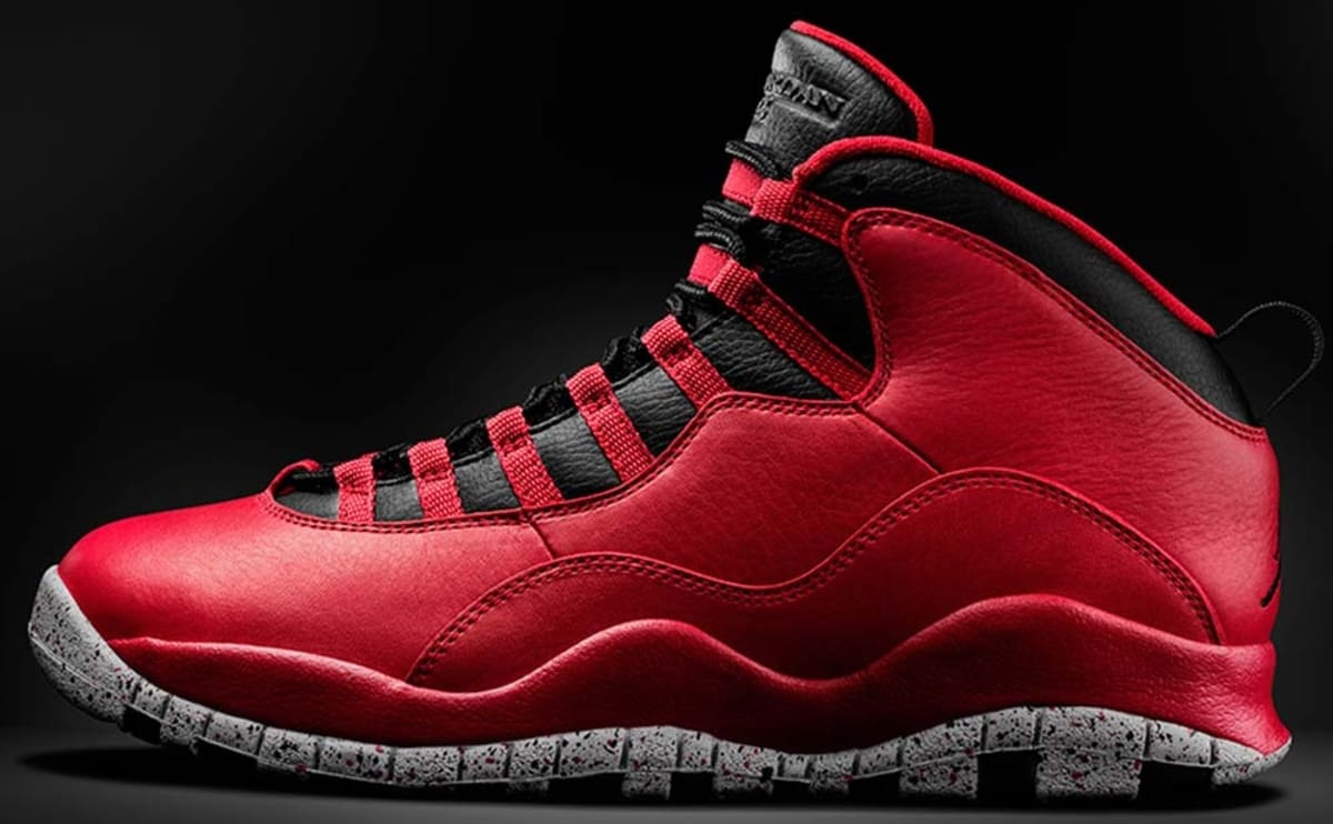 b3dd14a7a86b38 Air Jordan 10 Retro Gym Red Black-Wolf Grey