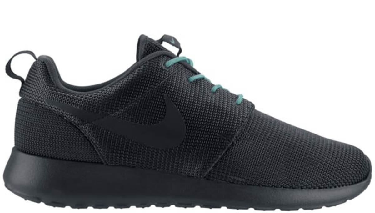 dd1344b2a0126 Nike Roshe Run Anthracite Crystal Mint
