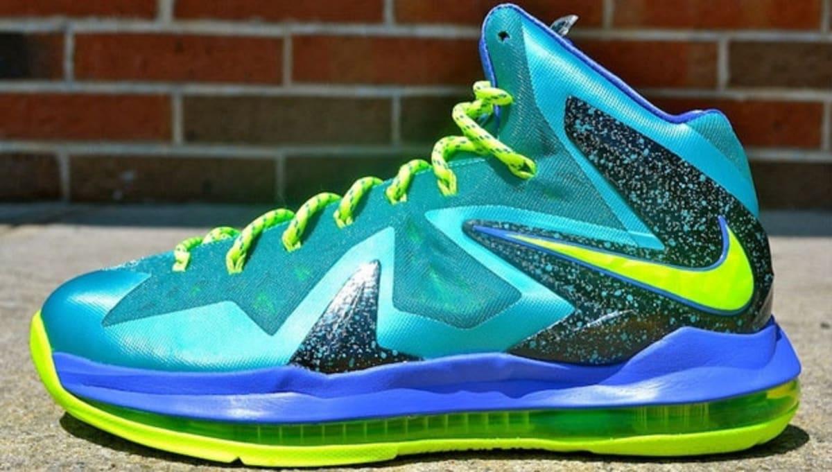 Nike LeBron X PS Elite Sport Turquoise | Nike | Sole Collector  Lebron 10 Elite Turquoise