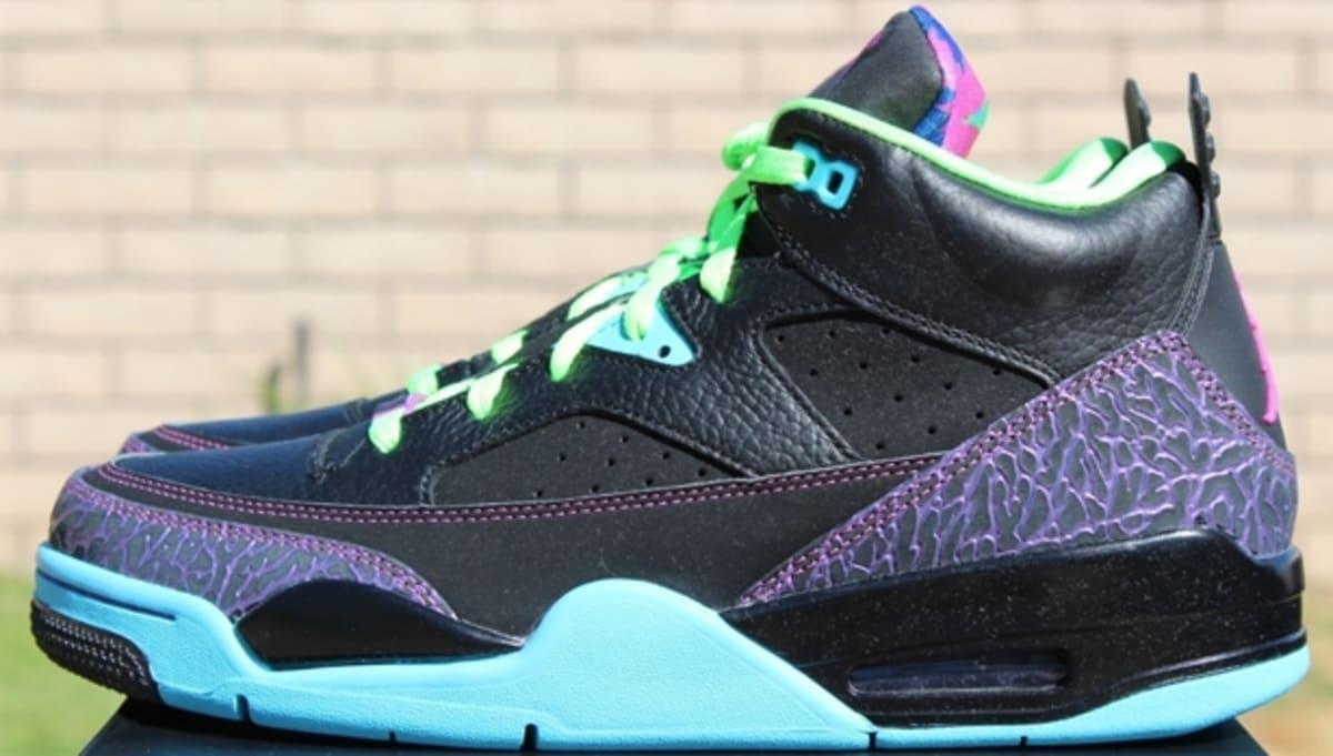 best service 1b9ec 187c7 Jordan Son Of Mars Low Black Club Pink-Gamma Blue-Court Purple