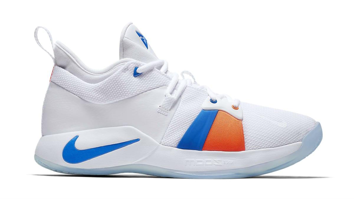 Aj Auto Sales >> Nike PG2 White/Photo Blue (OKC Home) | Nike | Sole Collector