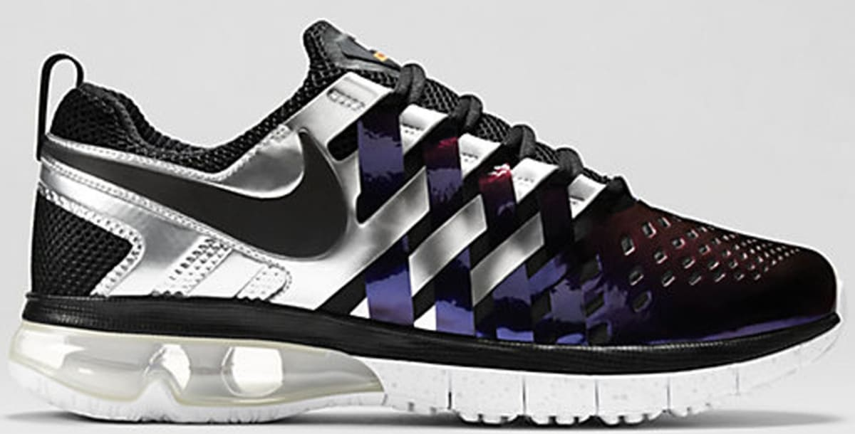 super popular e1ba8 38b14 sweden nike fingertrap max super bowl review on foot 6f468 a80ae  get nike  fingertrap max ink black white total orange 85a7d e92ec