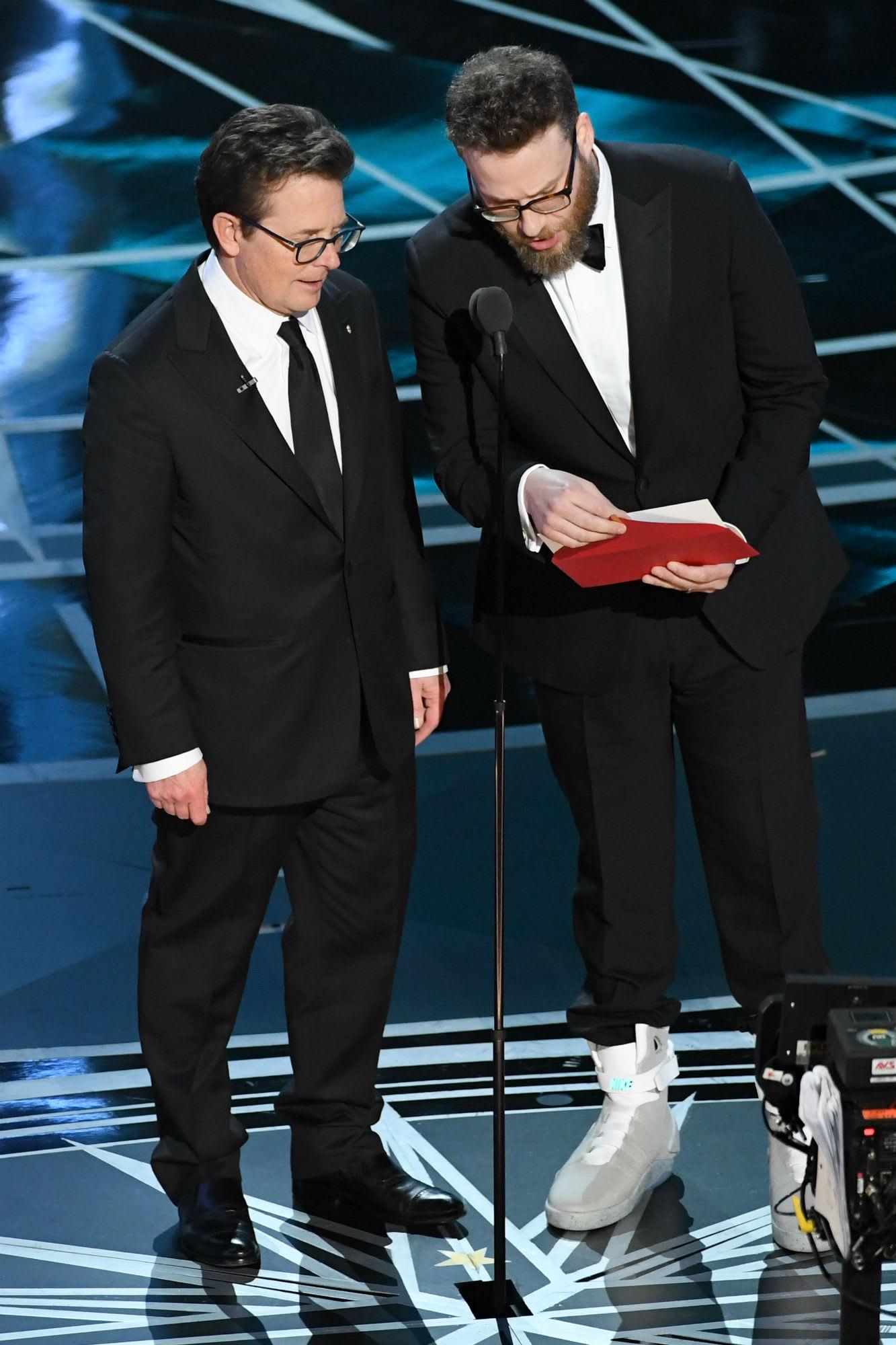 Seth Rogen Nike Mag Oscars