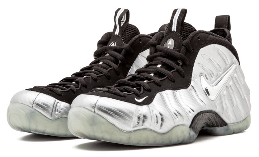 Nike Air Foamposite Pro Silver Surfer Main 616750-004