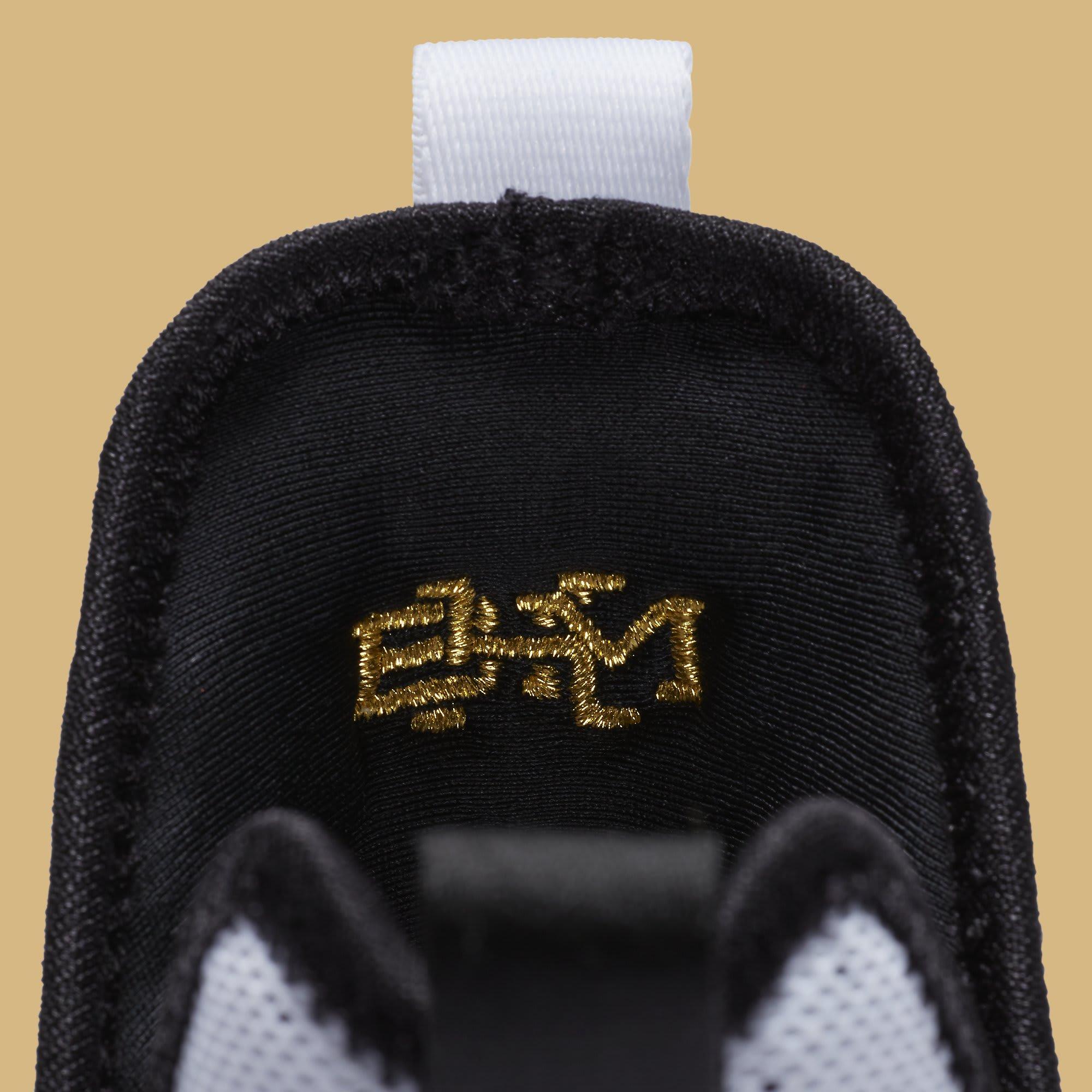 Nike LeBron 14 BHM Release Date Tongue 860634-100