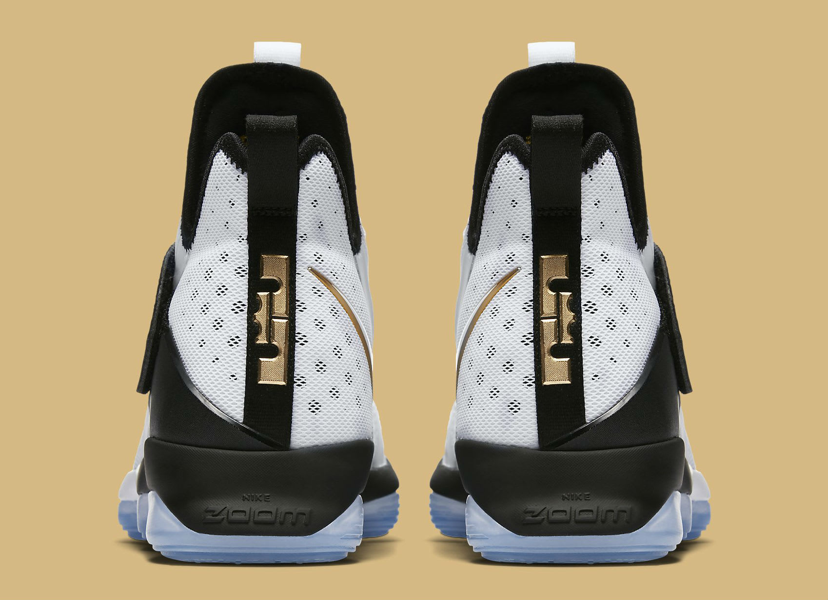 Nike LeBron 14 BHM Release Date Heel 860634-100