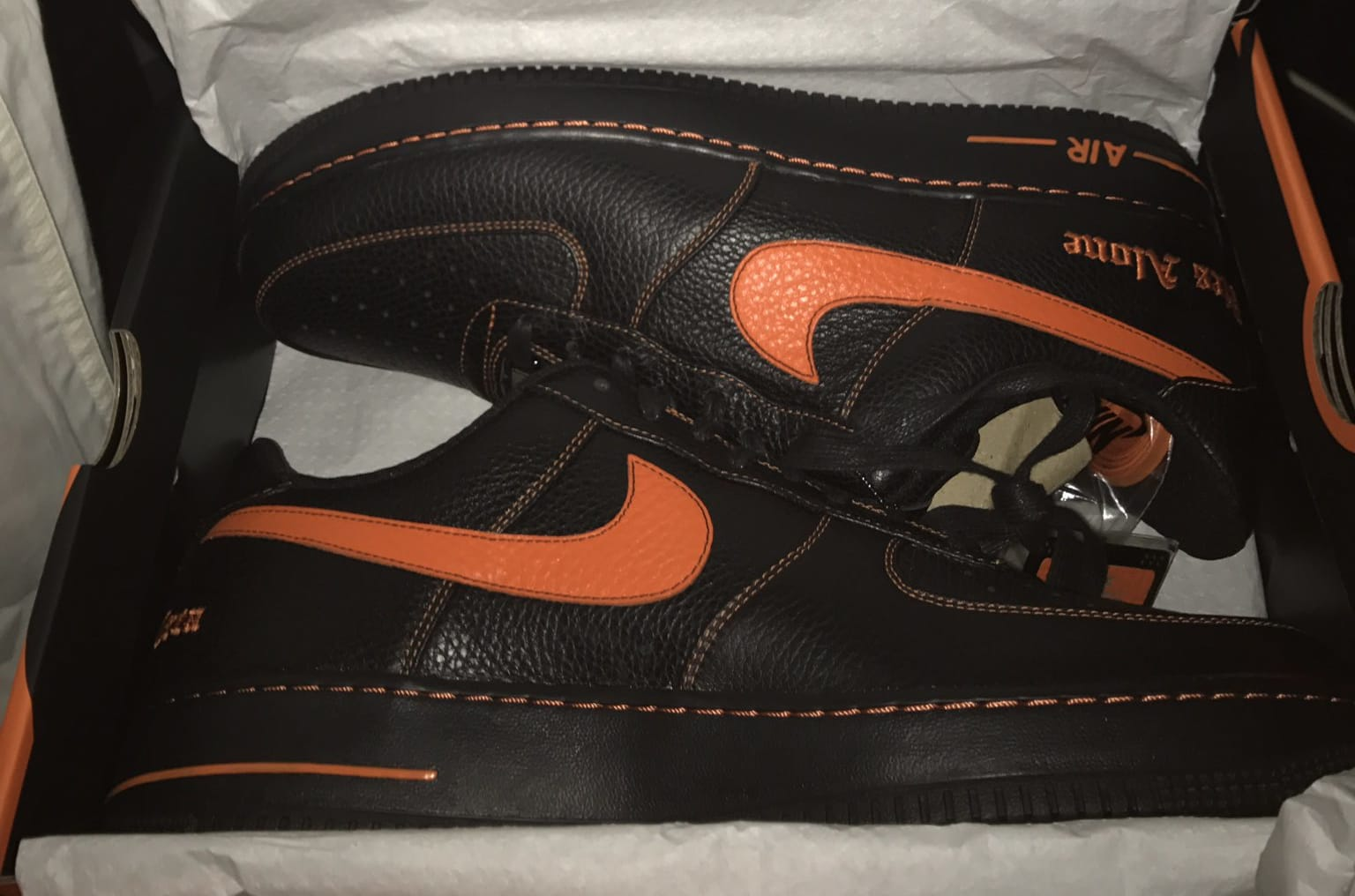 Wilson Chandler VLONE x Nike Air Force 1
