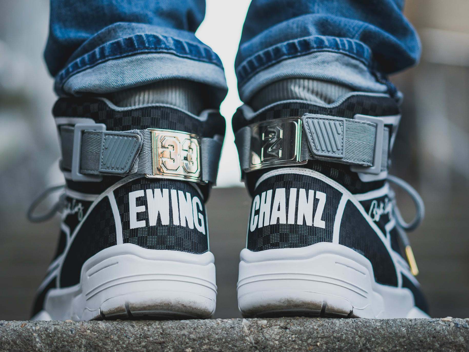 best service 7a2ad cac16 Image via Ewing Athletics 2 Chainz x Ewing Athletics 33 Hi