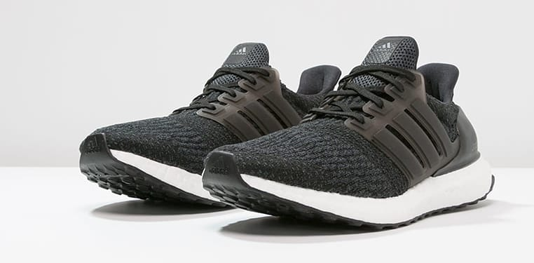 Adidas Ultra Boost 4.0 Black Grey Front