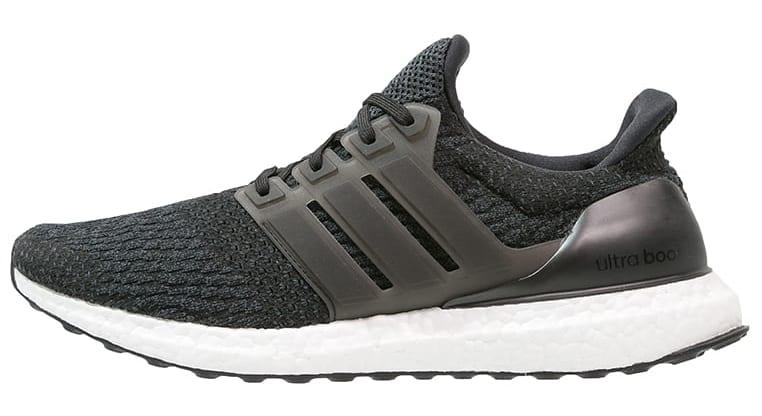 Adidas Ultra Boost 4.0 Black Grey Profile