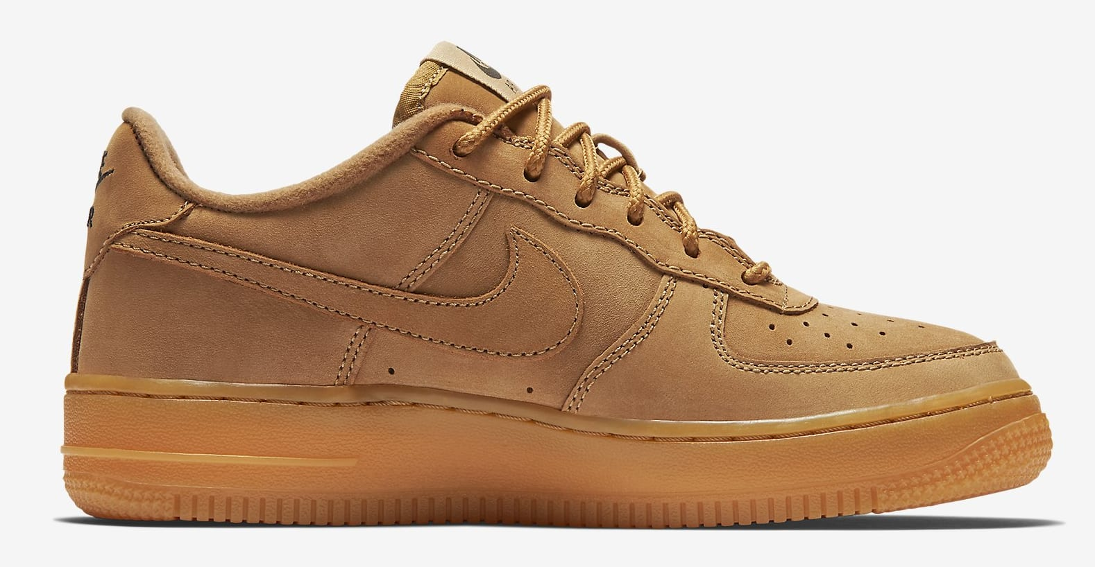 nike air force 1 low gs flax sole collector. Black Bedroom Furniture Sets. Home Design Ideas