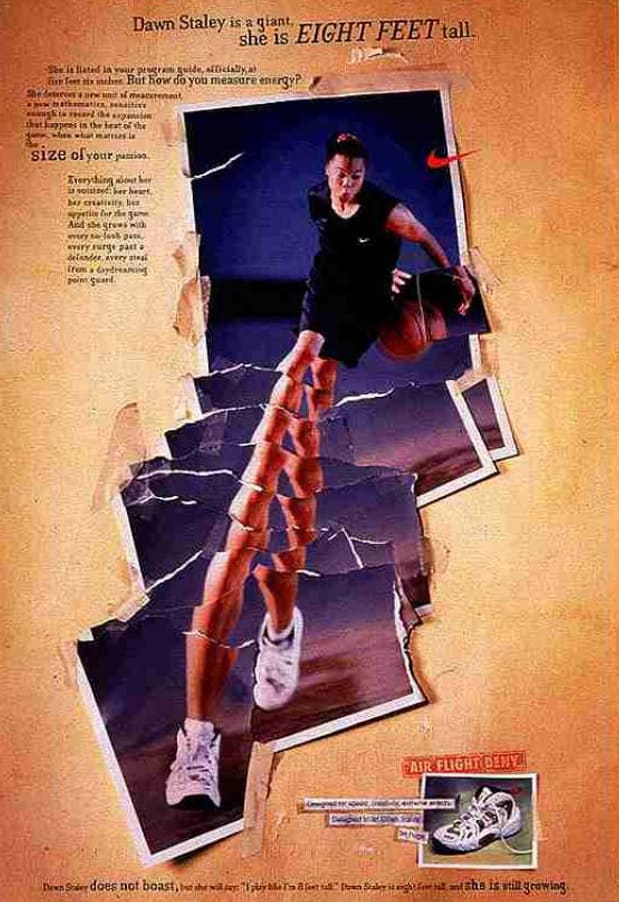 Dawn Staley Nike Ad