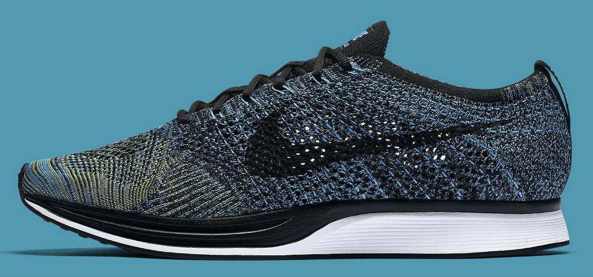 69bf0df6dd2d Nike Flyknit Racer Blue Glow Yellow Strike Release Date Profile 526628-405