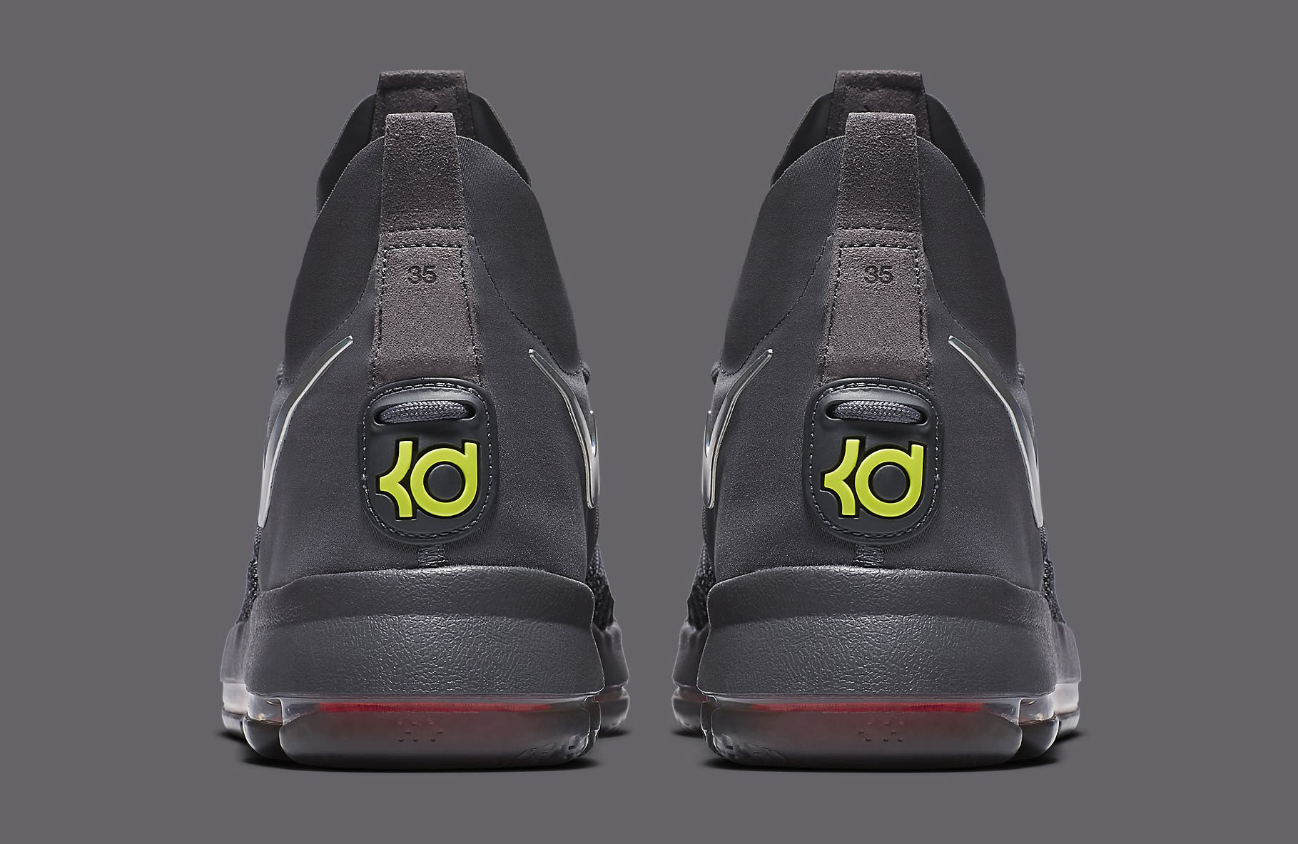 f01bb1972f298 Image via Nike Nike KD 9 Elite TS EP 909140-013 Grey Heel
