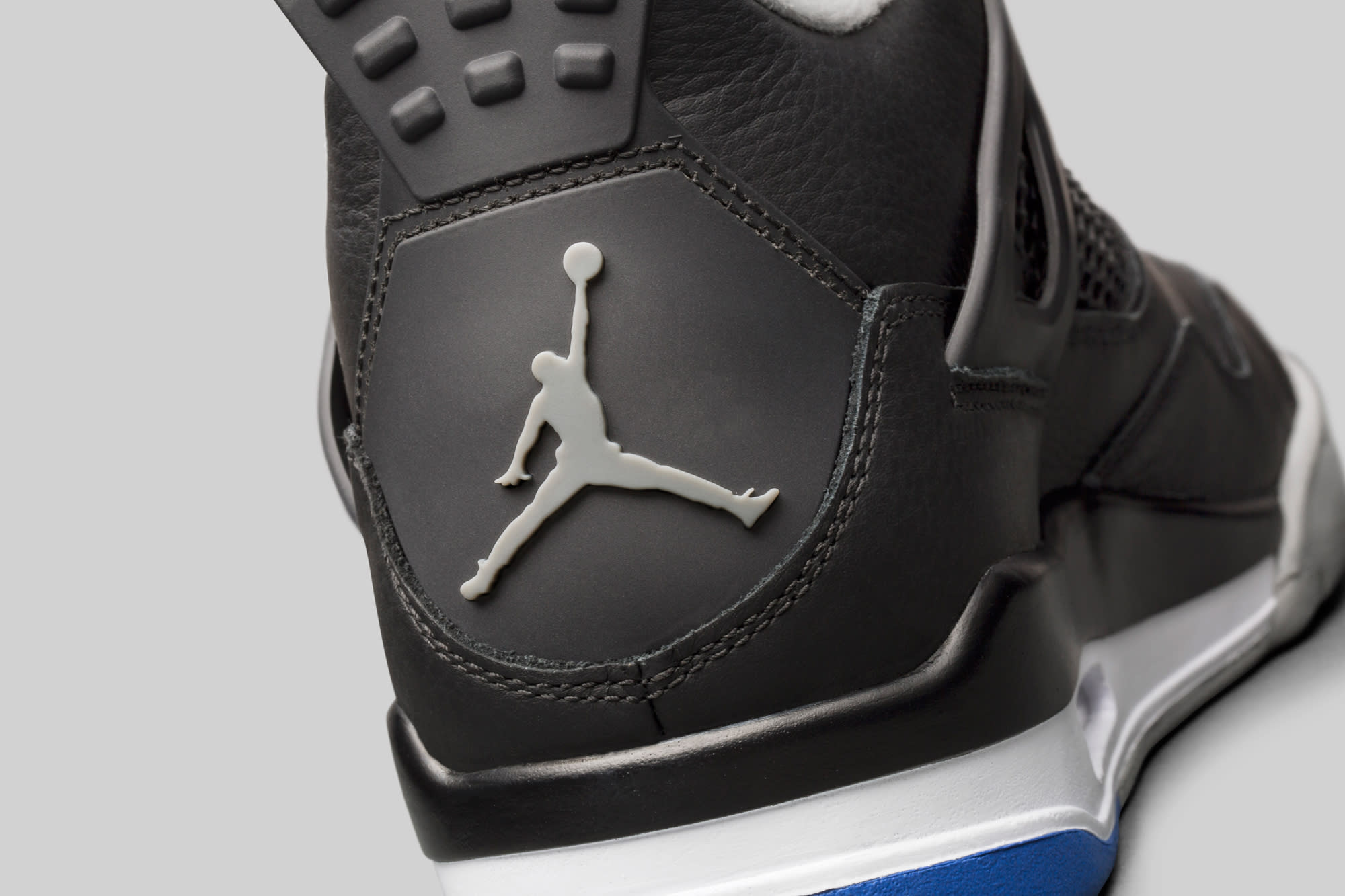 Air Jordan 4 Motorsports Alternate Heel