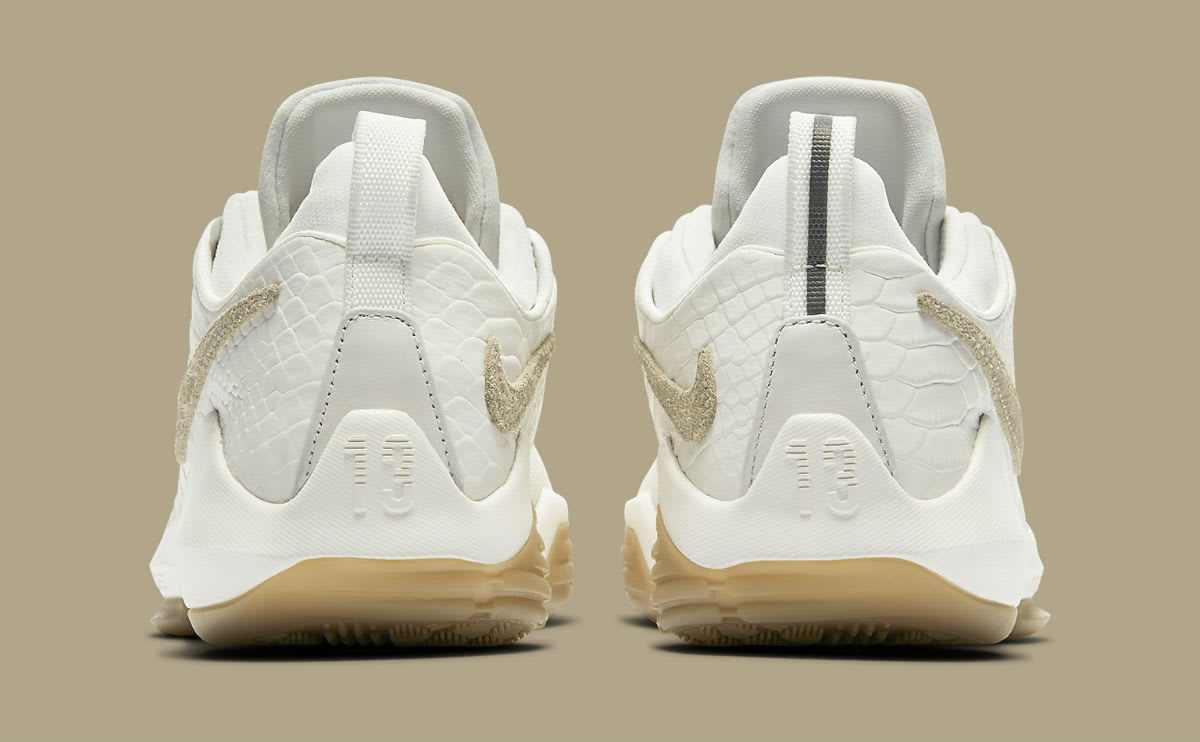 Nike PG1 Ivory Release Date Heel 880304-110