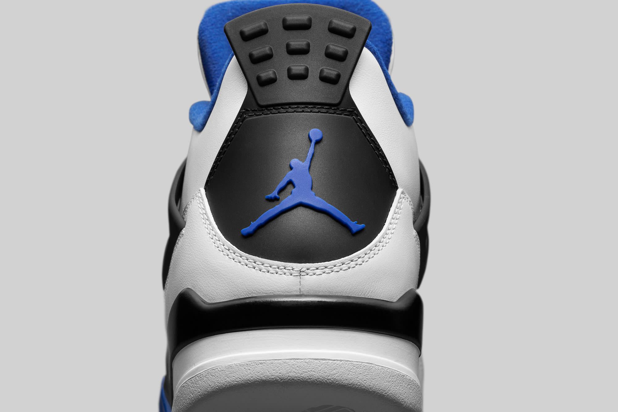 Air Jordan 4 Motorsports Heel