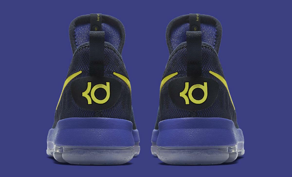 Nike KD 9 Roar From the Floor Release Date Heel 855908-484