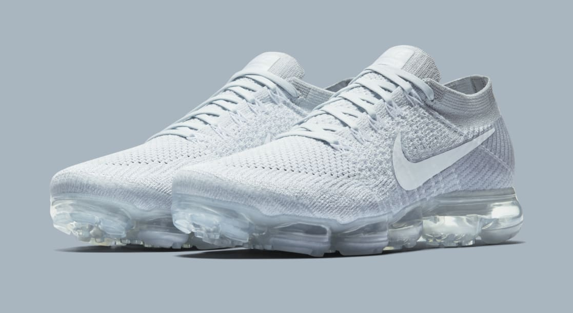 Nike Air VaporMax Flyknit Pale Grey UNheardof