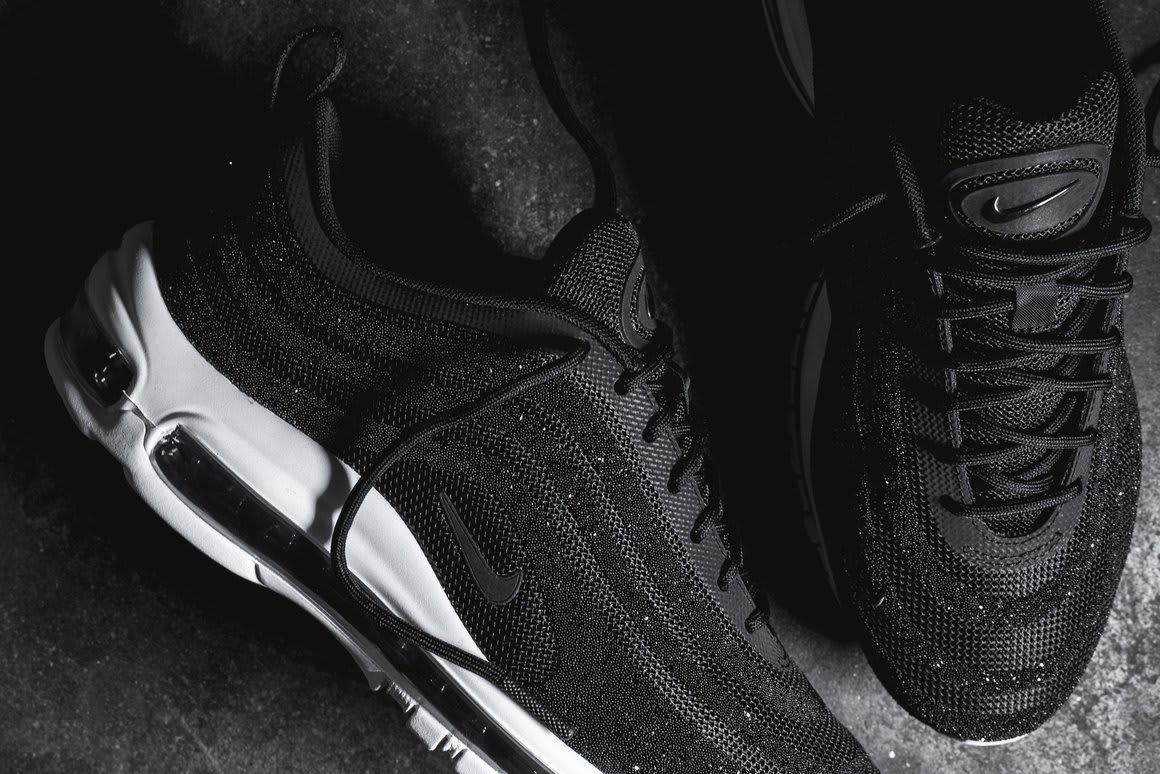 Nike Air Max 97 LX Swarovski Crystals Heel 927508-001 a7530d54ed