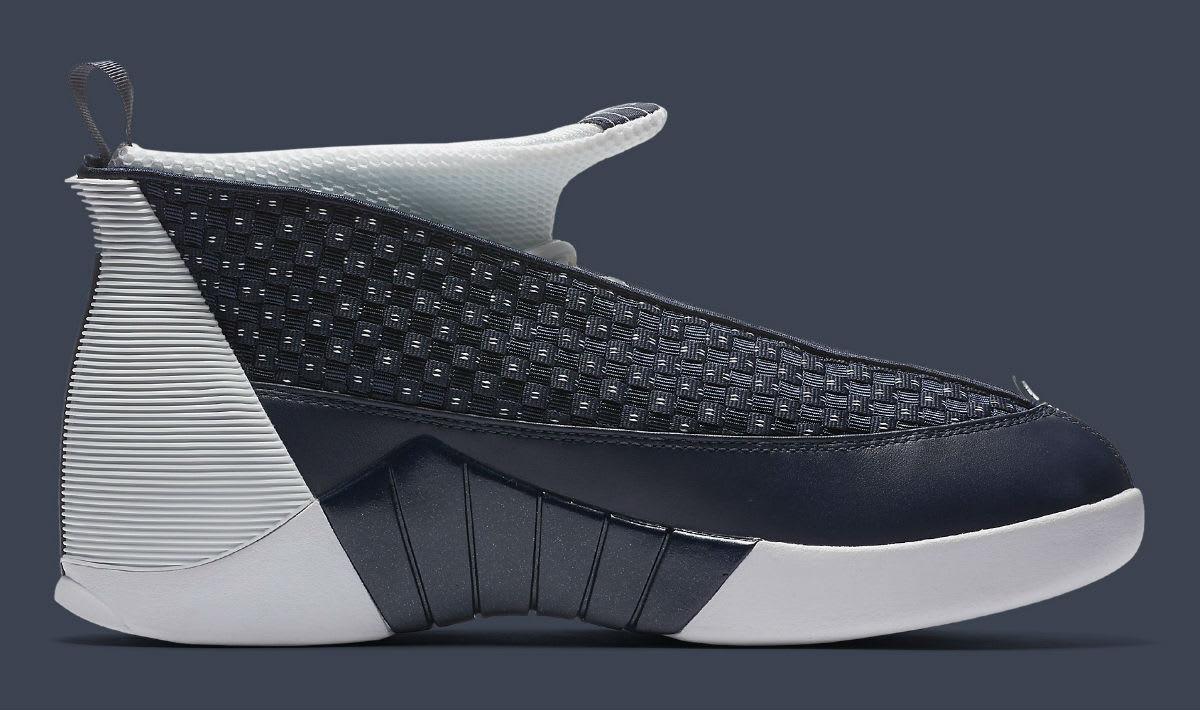 49390dee863287 ... retro  Air Jordan 15 Obsidian Release Date Medial 881429-400  Shop all  Nike ...