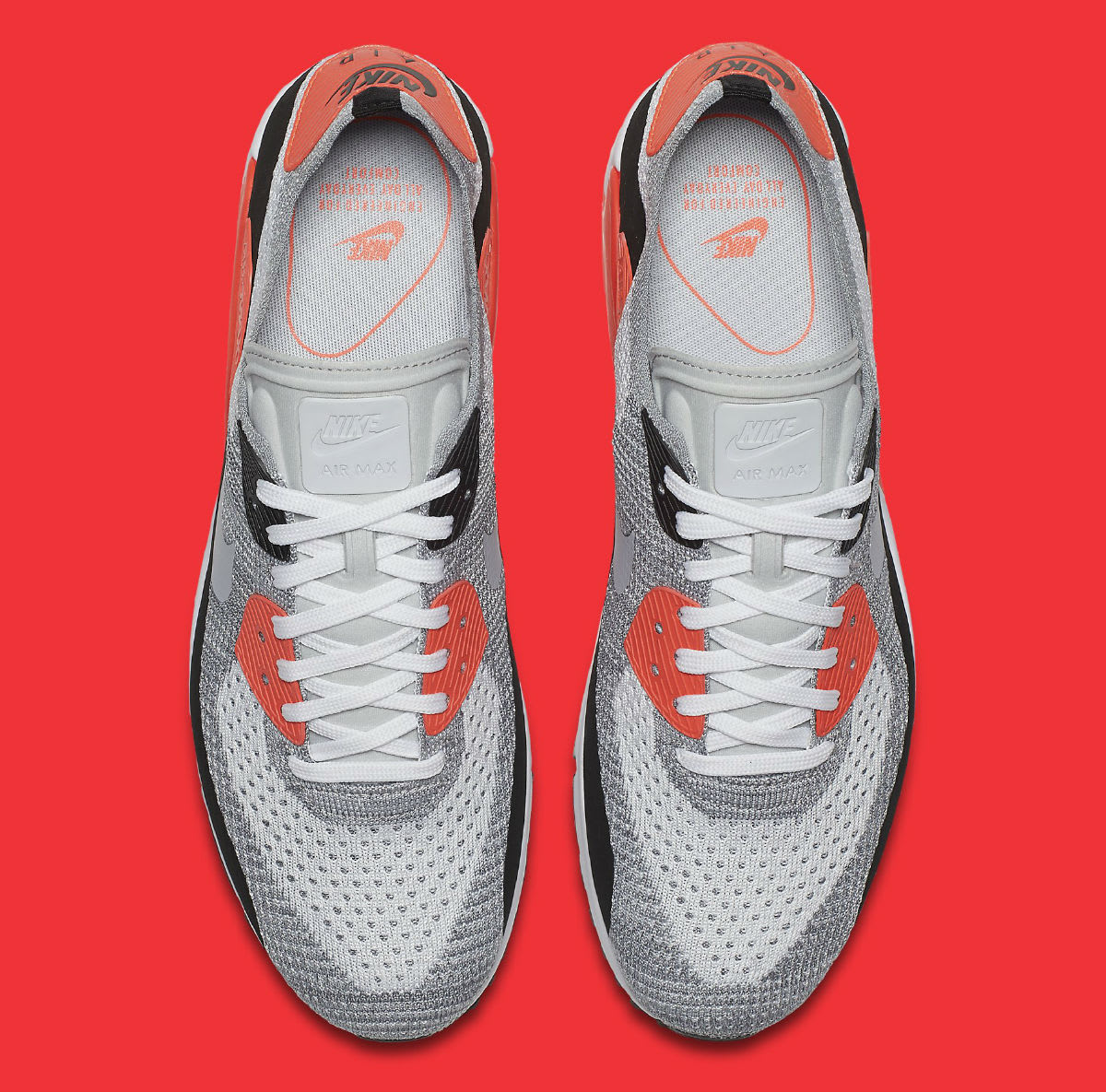 Nike Air Max 90 Ultra Flyknit Infrared Release Date Top 875943_100