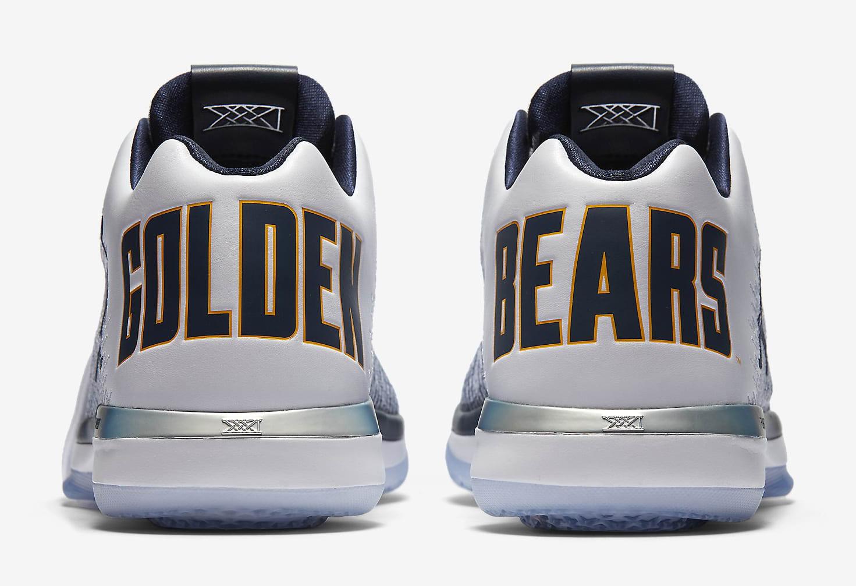 Cal Air Jordan 31 Heel
